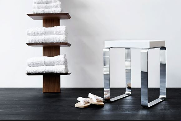 Wet Style: Cube Shower Bench