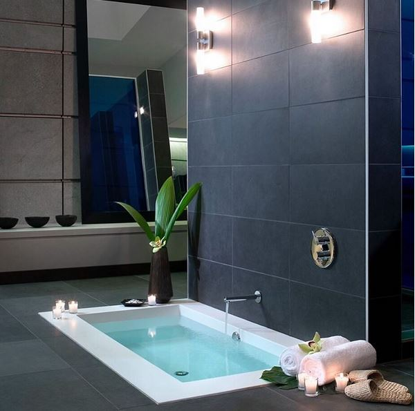 Wet Style Cube Shower Bench Spark Of Southern Moms - Wet style bathroom