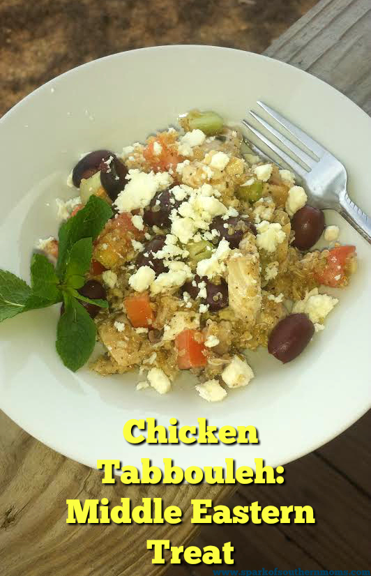Chicken Tabbouleh: Middle Eastern Treat
