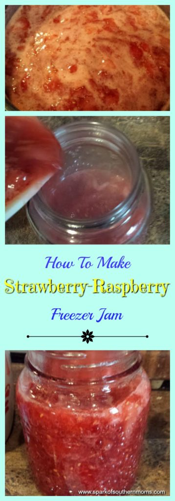 How To Make Strawberry-Raspberry Freezer Jam: Cooking and Canning Process