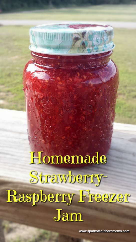How To Make Strawberry-Raspberry Freezer Jam: Finished Product!!